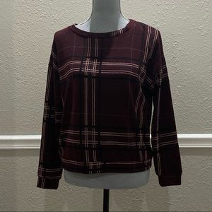 Windsor plaid sweater
